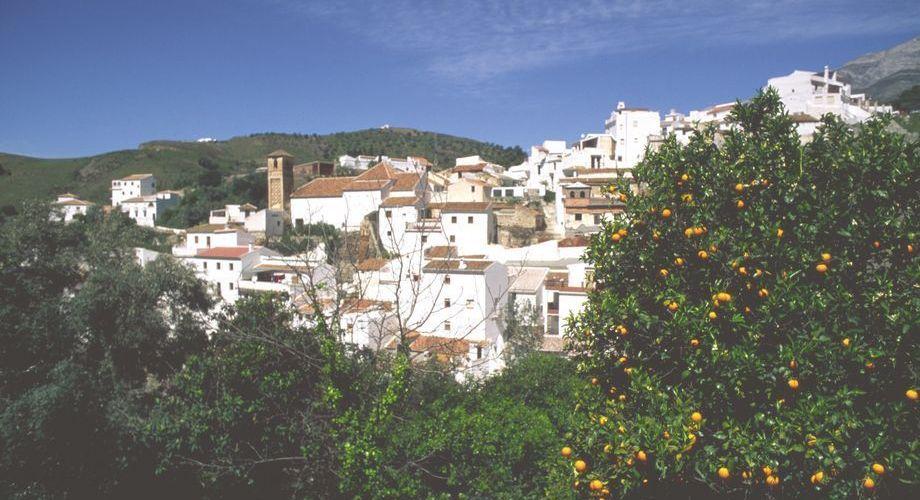 Pueblo blanco de la comarca que podremos conocer. (Foto: I.Gomez / Turismo Costa del Sol).